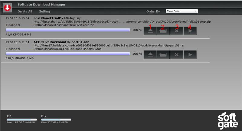IE Plugins - Download Manager - Plugin description